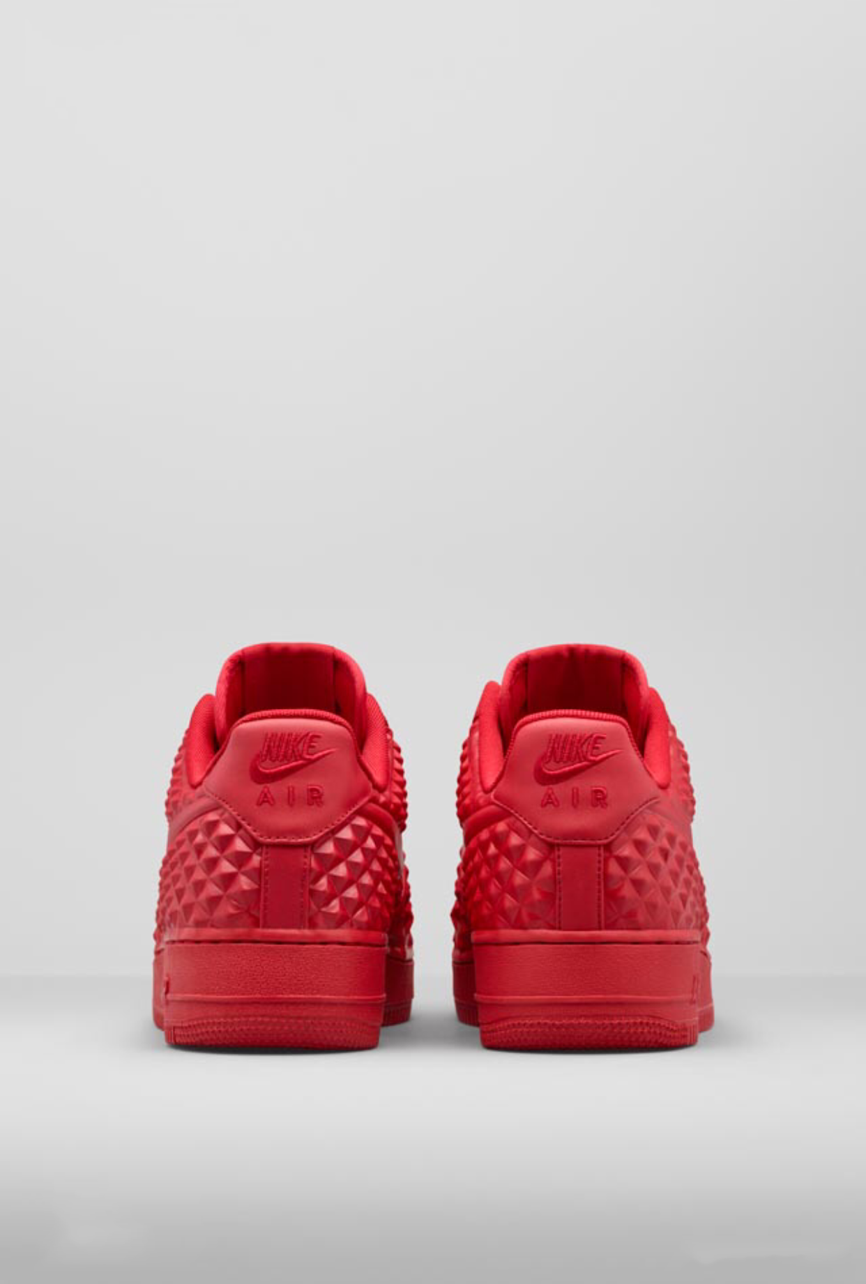 nike air force 1 red stars of death