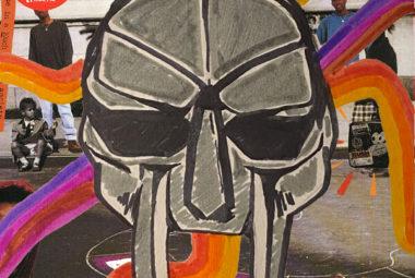 MF DOOM Mask over KMD album cover
